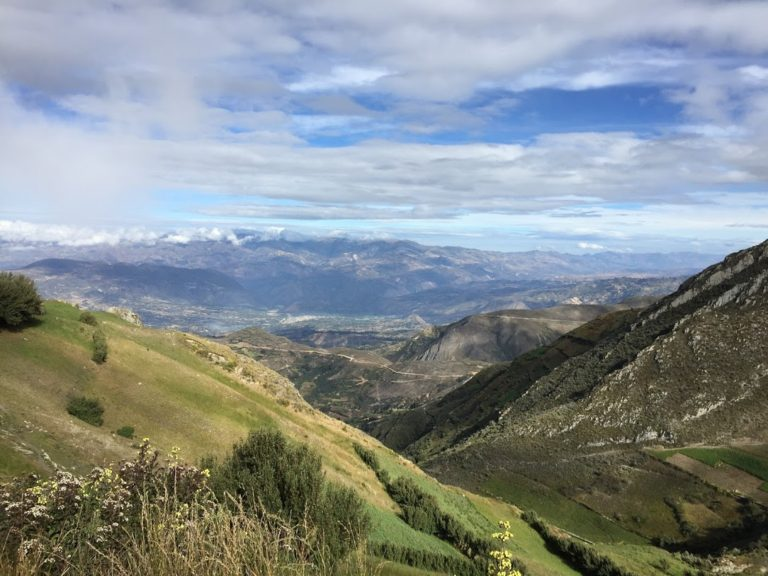 Stunning Landscape at High Altitude.
