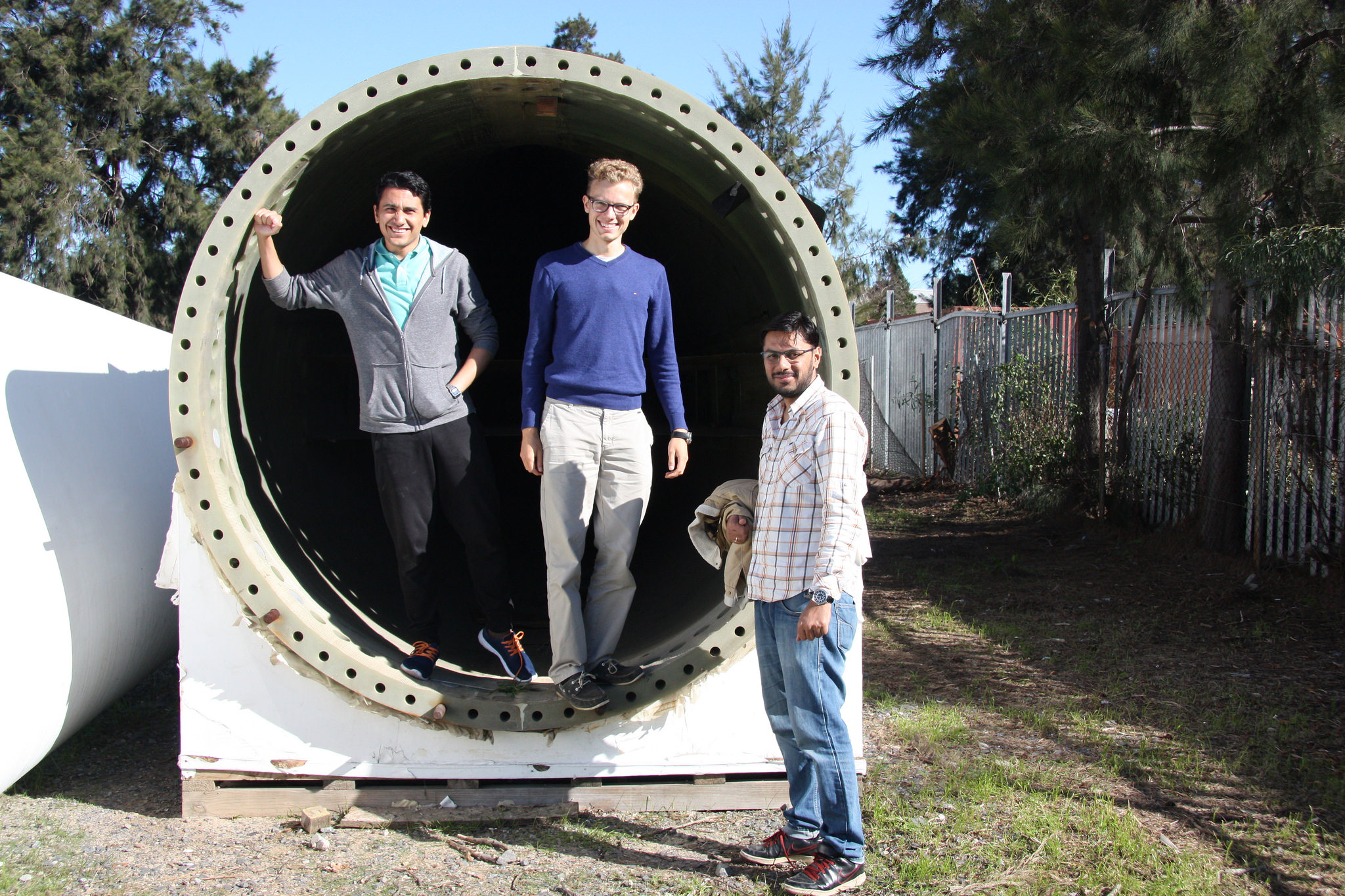 Visit at the South African Renewable Energy Technology Center, a national center for renewable energy training and education. Photo credit: Energy Politics Group and ETH Global.