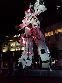 Gundam Unicorn, Odaiba, Tokyo (photo credit: Philipp Mayer)