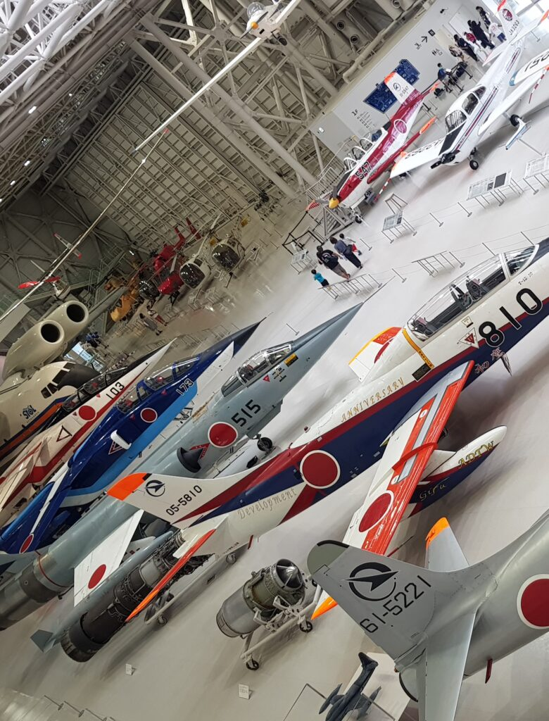 Kakamigahara air and space museum (photo credit: Caroline N. Mayer)