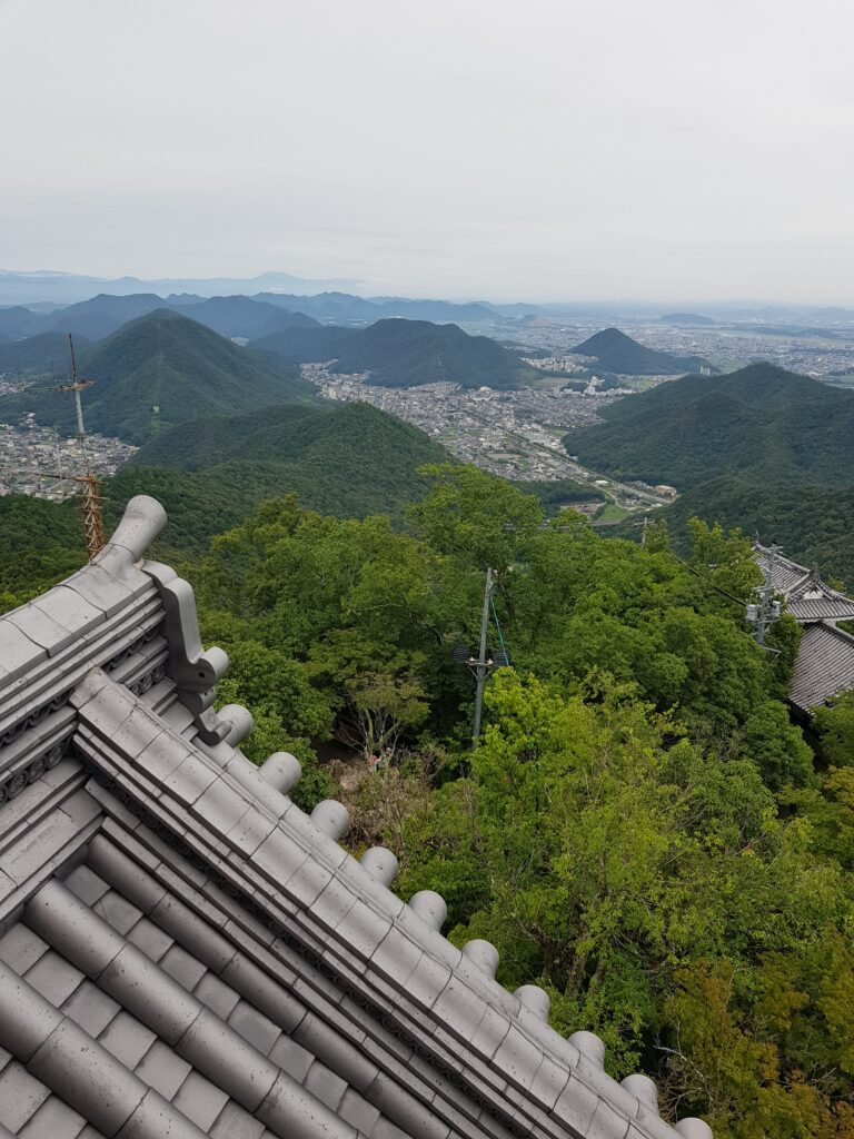 View from the Gifu castle (photo credit: Caroline N. Mayer)