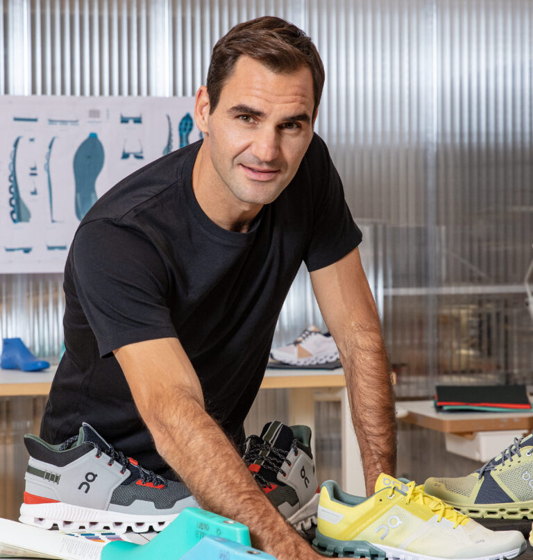 Roger Federer designing new trainers for Swiss running shoe maker, On.