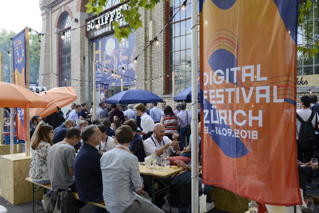 Digital Festival 2018 Schiffbau Zürich