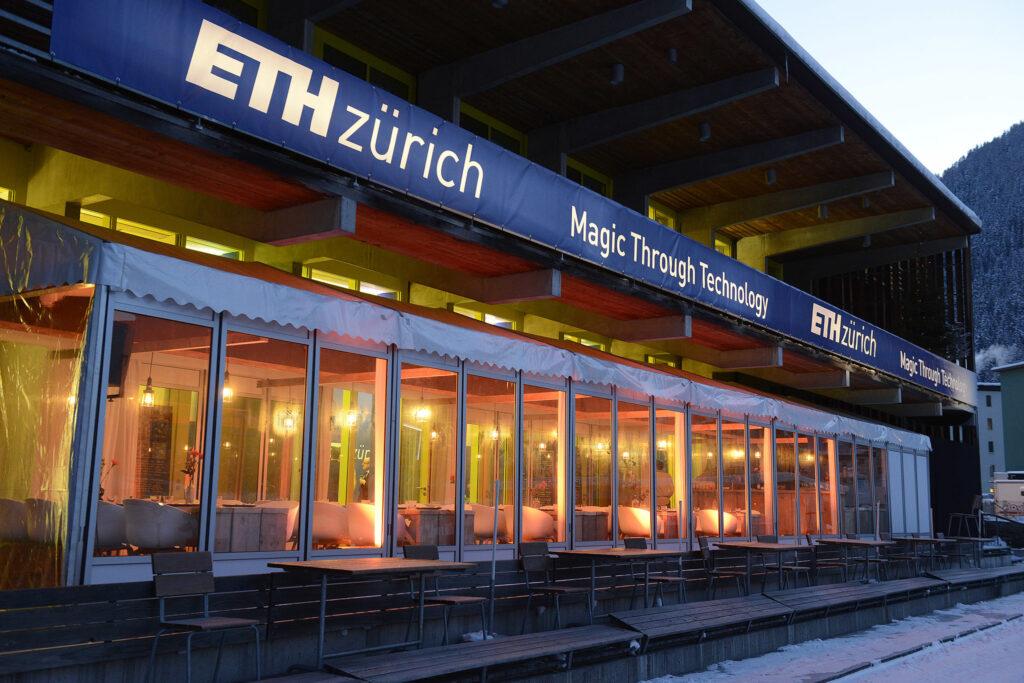 ETH Meets Davos 2017 - ETH Pavilion