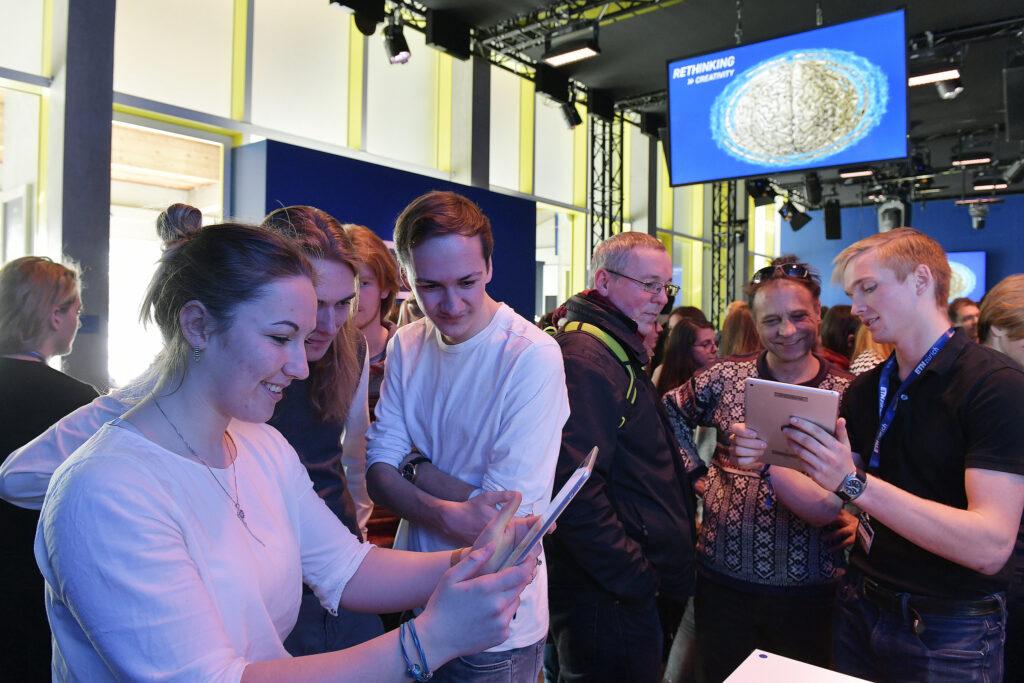 ETH Meets Davos 2020 - Pavilion exhibition