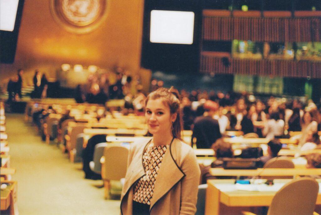 Stella Harper at UN Youth Conference 2017
