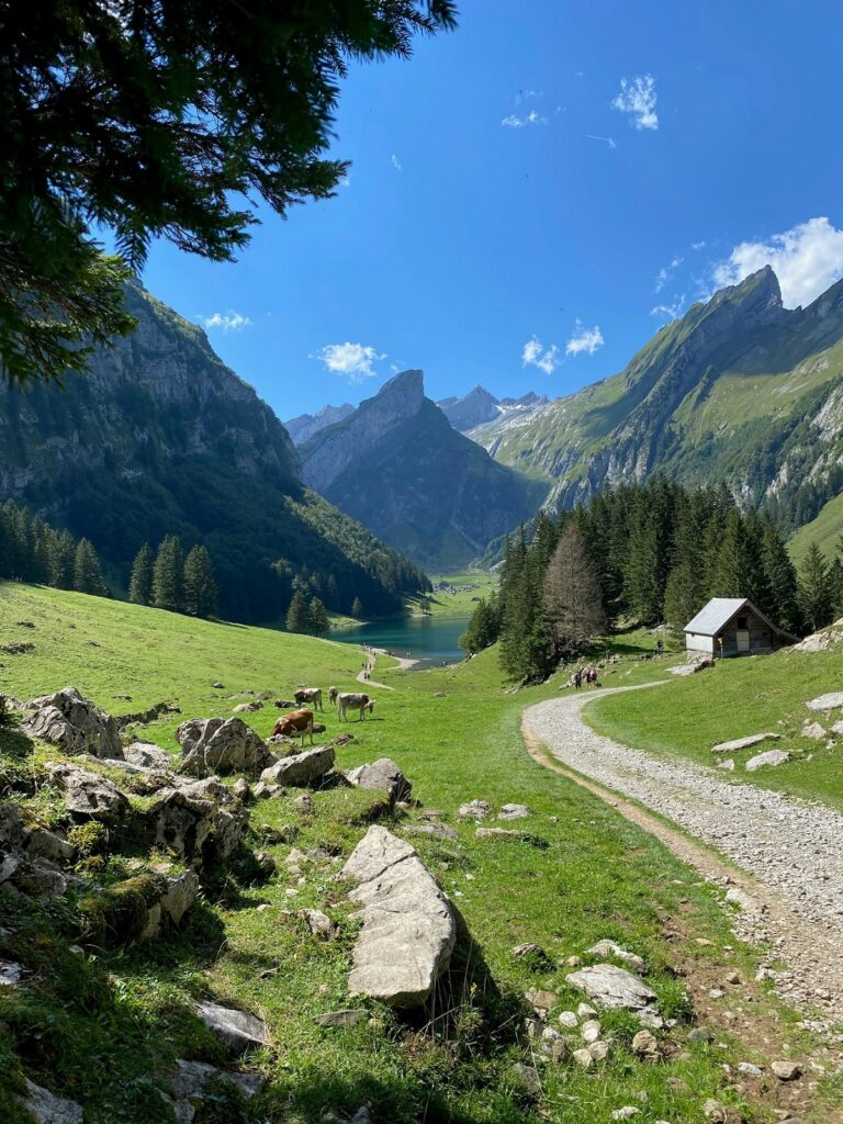 Hiking in the Swiss Canton Appenzell