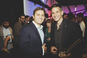 Pascal Kaufmann and Jürg Brunnschweiler in Brooklyn
