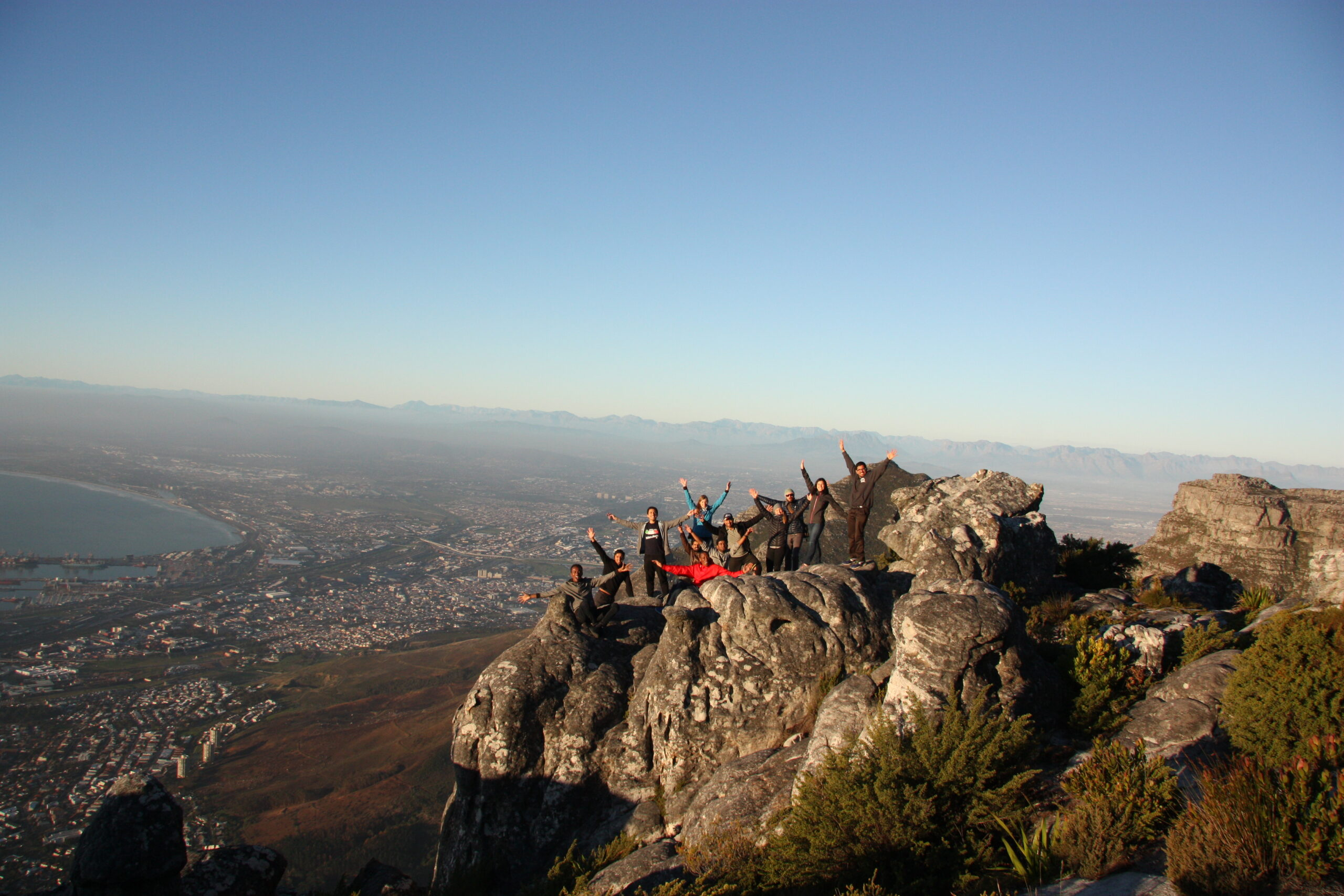 Trip to the famous Table Mountain at sunset.