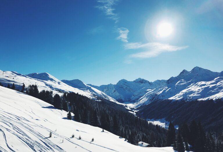 Mountain views in Davos