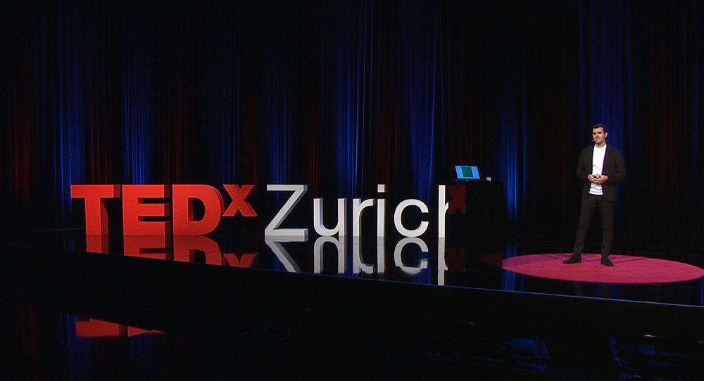 Carlo Sferrazza at TEDxZurich 2020