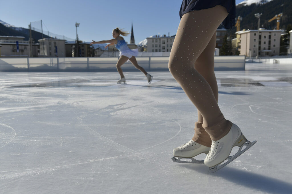 ETH Meets Davos 2020 - Ice skaters
