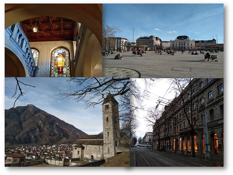 Gallery of pictures from Zurich, Biasca and Bellinzona