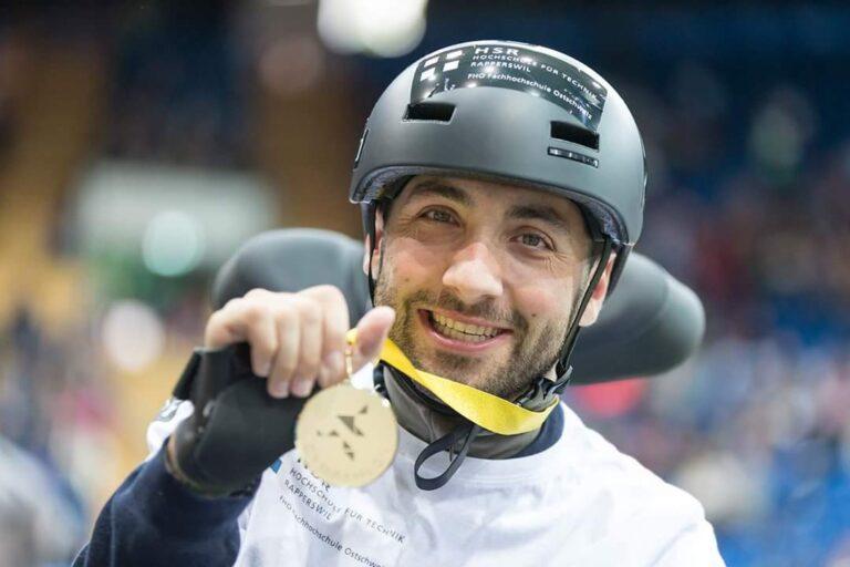 Florian Hauser Gold 2016
